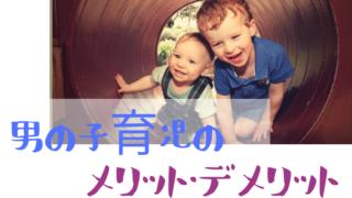 男の子育児メリットデメリット
