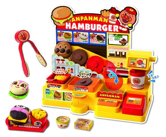 日本おもちゃ大賞2021アンパンマン ジュージューころころ おしゃべりハンバーガー屋さん
